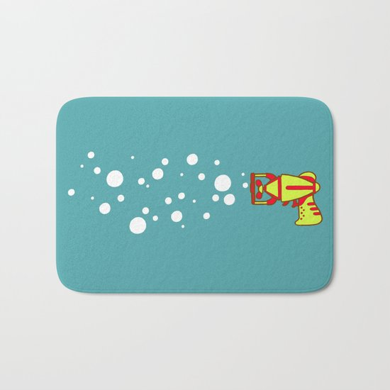 Bubblegun Bath Mat