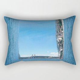 abstract seascape Rectangular Pillow