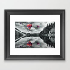 Floating Dreams Framed Art Print