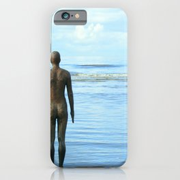 Iron Men as the tide returns iPhone Case