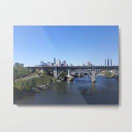 Minneapolis Metal Print