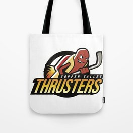 Copper Valley Thrusters Tote Bag