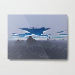 Misty archipelago Metal Print