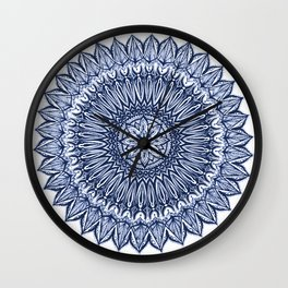 Sinful-Navy Wall Clock