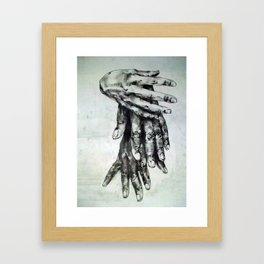Impact. Framed Art Print