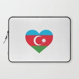 Azerbaijan  love flag heart designs  Laptop Sleeve