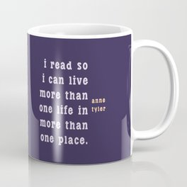 I read so I can live... Coffee Mug