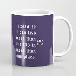 I read so I can live... Coffee Mug
