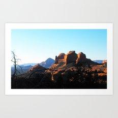 Red Rock of Sedona Art Print