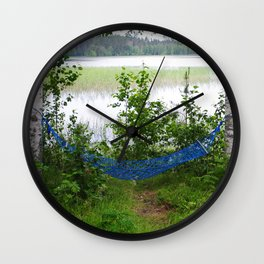 Come and relax! Wall Clock