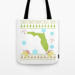 Florida Christmas Ugly Shirt Tote Bag