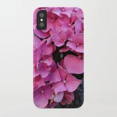 Hortensia iPhone X Slim Case