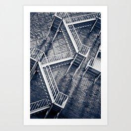 Escher's Escape Art Print