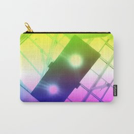 Urban Psychedelic Lights Carry-All Pouch