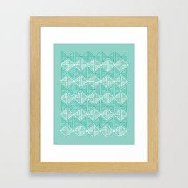 bowties Framed Art Print