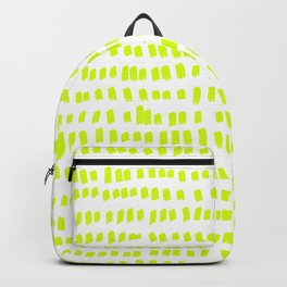 The green green grass of home - a handmade pattern Backpack