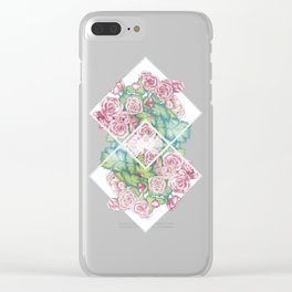 Flores Clear iPhone Case