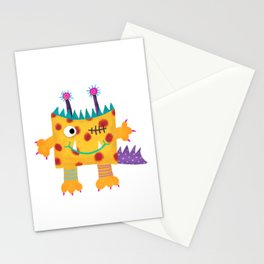 Monster Max Stationery Cards