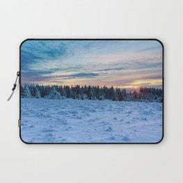 Frozen Landscape Laptop Sleeve