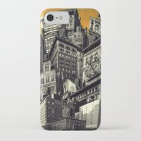 cityscape iPhone & iPod Cases featuring Cityscape by Chris Lord