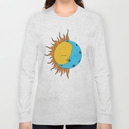Sun and Moon Long Sleeve T-shirt
