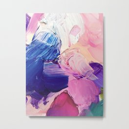Saturday Night (Abstract Painting) Metal Print