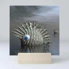 Sea Monsters Mini Art Print