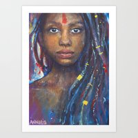 faith Art Prints featuring Faith by Annelie Solis