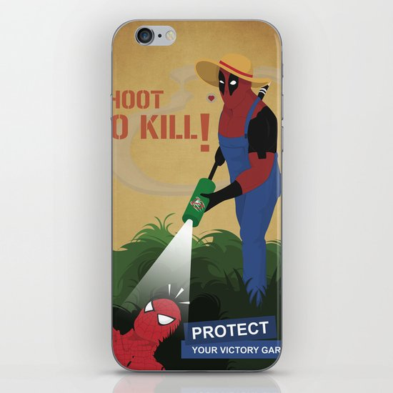 Protect your garden iPhone Skin