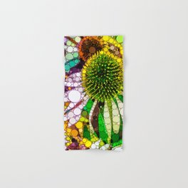 Prickly flower to you Hand & Bath Towel
