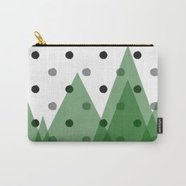 Christmas mountains Carry-All Pouch