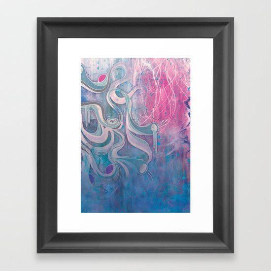 Electric Dreams Framed Art Print