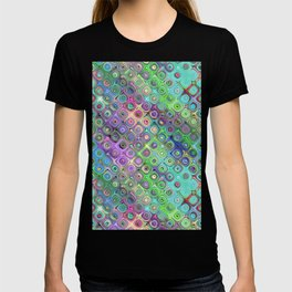 Abstract Pattern of Colorful Shapes  T-shirt