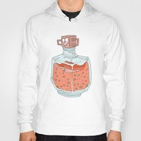 health Hoodies featuring Health Potion by Sam Mameli