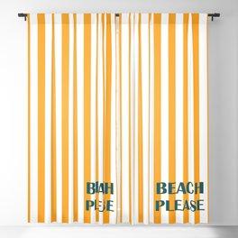 Beach Please! Blackout Curtain
