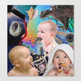 Psalm 8 - Out of the Mouth of Babes Canvas Print
