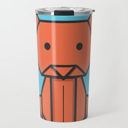 Origami Cat Travel Mug