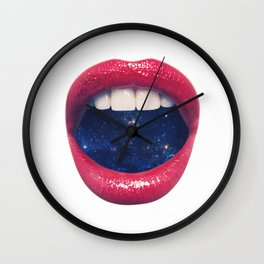 A Taste of Space Wall Clock