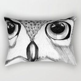 mysterious owl Rectangular Pillow