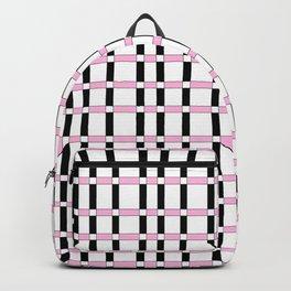 symetric tartan and gingham 28 -vichy, gingham,strip,square,geometric, sober,tartan Backpack