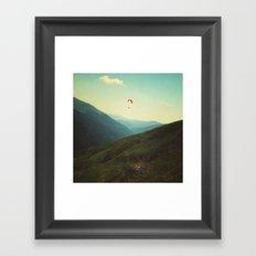 A solitary moment Framed Art Print