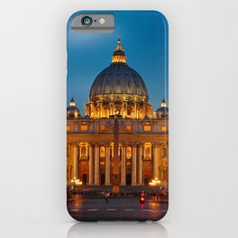 Papal Basilica of St. Peter in the Vatican iPhone Case