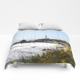 Springtime On The West Coast Comforters