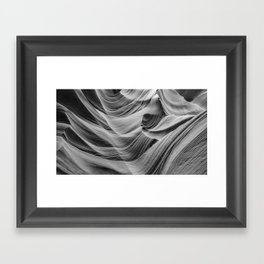ANTELOPE CANYON XXXII Framed Art Print