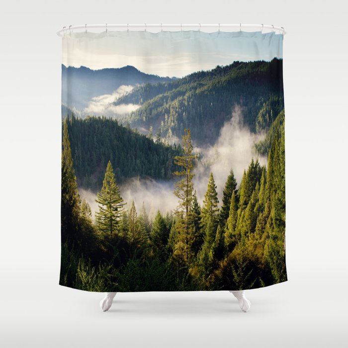Adventures Shower Curtain