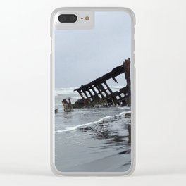 ShipWrecked Clear iPhone Case