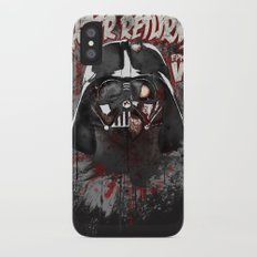 When there's no more room in Hell....Vader. iPhone X Slim Case