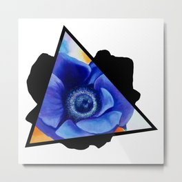 Needy Nympho Triangle Metal Print