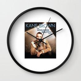 Kane Brown Worldwide Beautiful Wall Clock