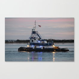 Bayou Dawn Canvas Print
